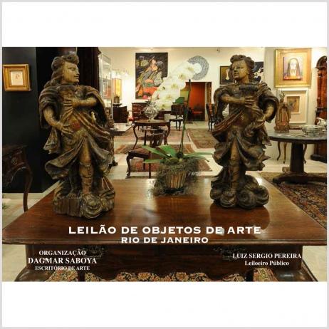 LEILÃO DE OBJETOS DE ARTE
